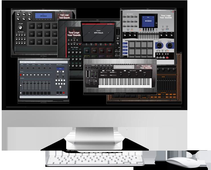 MPC GUI Virtual instruments