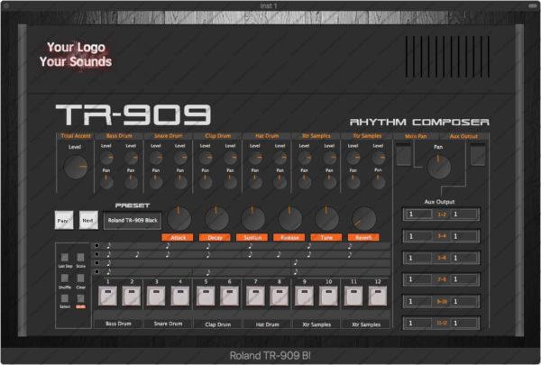 Roland TR-909 Black